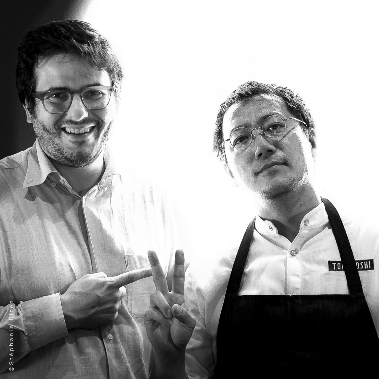 Enrico Vignoli & Yoji Tokuyoshi